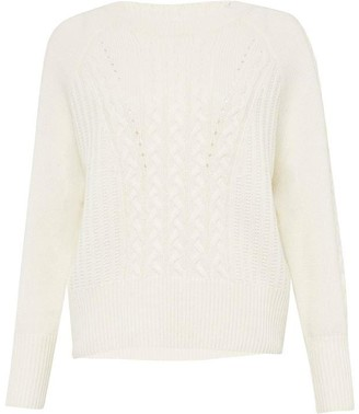 Great Plains Seille Knit Cable Knit Jumper