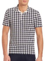 Lacoste Slim-Fit Gingham Polo