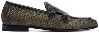Silvano Sassetti Woven Monk Shoes