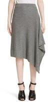 Michael Kors Women's Cashmere Handkerchief Hem Skirt