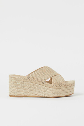 H&M Slip-on Sandals - Beige