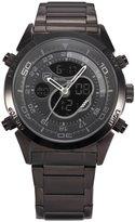 Shark SH143-US2 Men's Dual Movement Alarm Stopwatch Sport Quartz Wristwatch