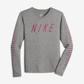 Nike Dry Matchsticks Big Kids' (Girls') Training T-Shirt