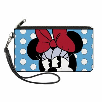 Buckle Down Buckle-Down Womens Buckle-down Zip Minnie Mouse Small Wallet
