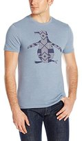 Original Penguin Men's Cross Stitch Pete Graphic T-Shirt
