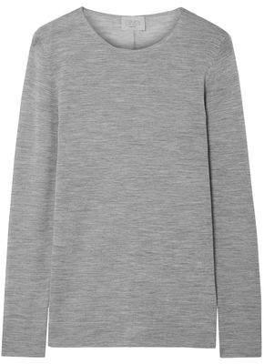 Jason Wu Grey Melange Wool Sweater