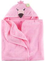 Carter's Flamingo Hooded Towel