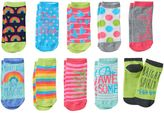 "Pink Cookie Girls 4-16 10-pk. ""Make Your Magic"" Low-Cut Socks"