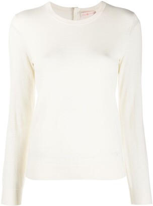 Tory Burch Cashmere Long Sleeve Jumper