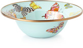 Mackenzie Childs MacKenzie-Childs Butterfly Garden Sky Breakfast Bowl