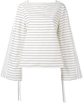 Tibi striped shirt - women - Cotton - 8
