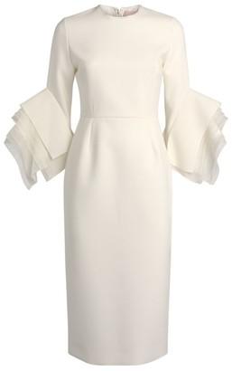 Roksanda Ronda Layered Sleeve Dress