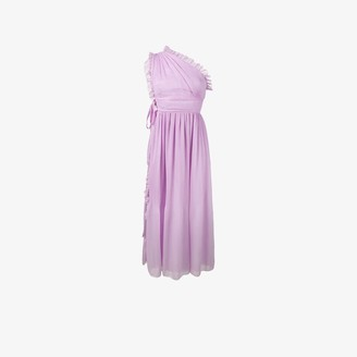 Rochas One Shoulder Dress