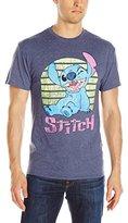 Disney Men's Neon Stitch T-Shirt