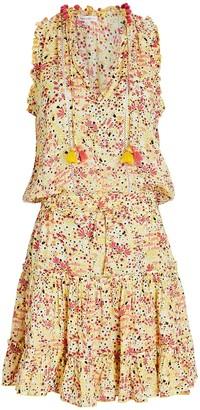 Poupette St Barth Clara Sleeveless Floral Dress