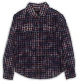 True Religion Boy's Plaid Cotton Shirt