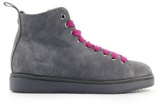 Ash Panchic Fuchsia Suede Grey Roma W Boot