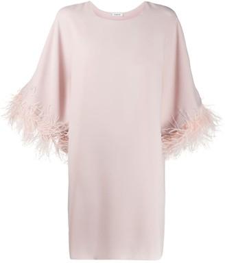P.A.R.O.S.H. embellished sleeve shift dress