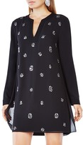BCBGMAXAZRIA Dyannne Embellished Tunic Dress