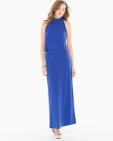 Soma Intimates Skyler Maxi Dress Cobalt