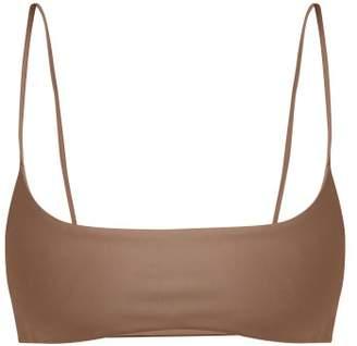 JADE SWIM Muse Scoop Bikini Top - Womens - Nude