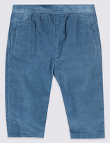 Marie Chantal Marie-chantal Pure Cotton Cord Trousers