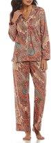 Lauren Ralph Lauren Petite Paisley Classic Sateen Pajamas