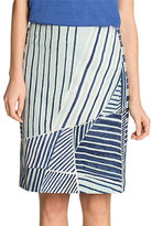 Nic+Zoe PETITE Striped Skirt