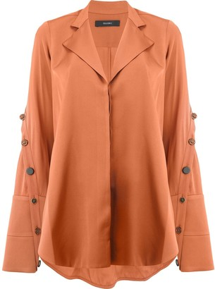 Ellery Explosive side slit shirt