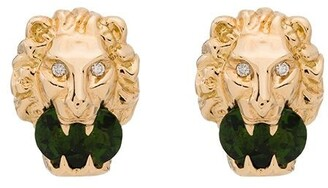 Gucci 18kt Yellow Gold Diamond Earrings