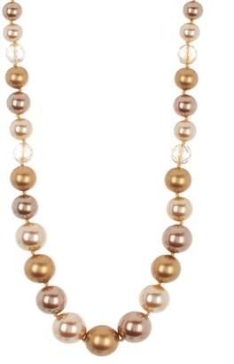 "Carolee 20\"" Imitation Pearl Beaded Necklace"