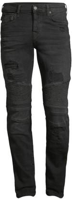 True Religion Rocco Moto Super Stretch Jeans