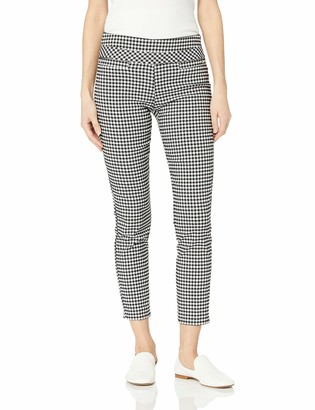 Leighton By My Michelle Womens Slim Mid-Rise Pull On Career Pant