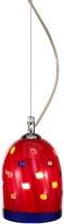 Voltolina Meg - Red Murano Handmade Glass Pendant Lamp
