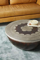 Anthropologie Embossed Meridian Coffee Table