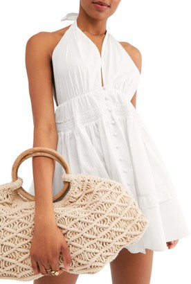 Free People Sail Away Halter Tunic