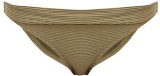 Heidi Klein Venice Fold-over Bikini Briefs - Khaki
