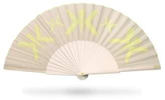 Khu Khu Hellow Yellow Hand Fan