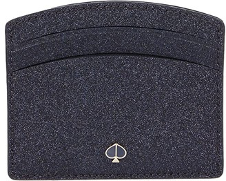 Kate Spade Burgess Court Card Holder (Lakeshore Blue) Credit card Wallet