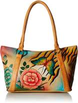 Anuschka Anna by Handpainted Leather Medium Tote