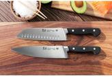Cangshan V2 Series 2-Piece German Steel Forged Chef and Santoku Knife Set