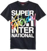 Superdry Men's Interlocked International Graphic-Print Cotton T-Shirt