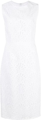 Carolina Herrera cut-out detail sheath dress