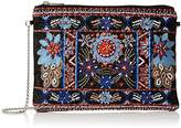 New Look Women's Bright Embroidered Clutch