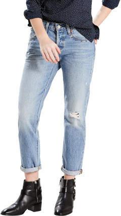 Levi's 501ct Taper Jean With Light Destruction & Studded Pocket