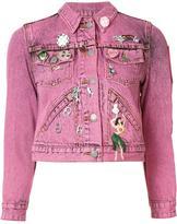 Marc Jacobs shrunken embellished jacket - women - Cotton - S
