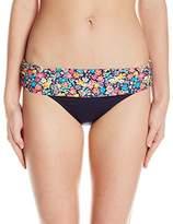 Anne Cole Women's Budding Romance Foldover Bikini Bottom