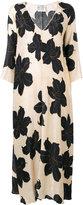 Forte Forte loose-fit floral dress - women - Silk - 1