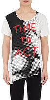 "Vivienne Westwood MEN'S ""TIME TO ACT"" COTTON T-SHIRT SIZE XS"
