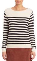 SET Striped Wool-Blend Sweater
